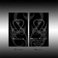 Uliram Business Card by uliram