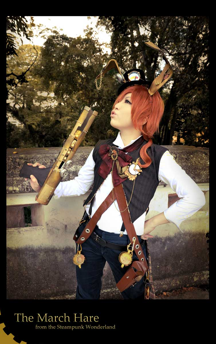 Steampunk AiW: March Hare 03