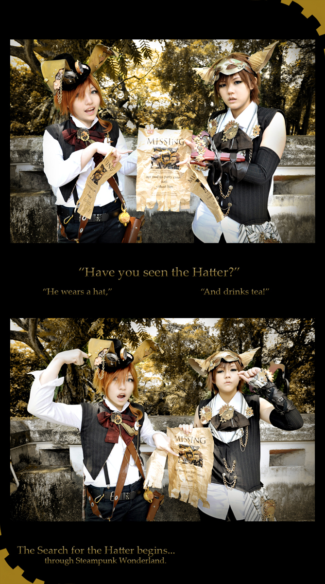 Search for the Hatter ..01.. by XiaoBai