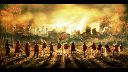 Final Fantasy Type 0 - Flame of the Phoenix by XiaoBai