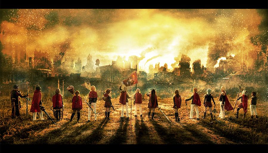 Final Fantasy Type 0 Hd Games 4k Wallpapers Images: FF Type-0 Favourites By NeneRuki On DeviantArt