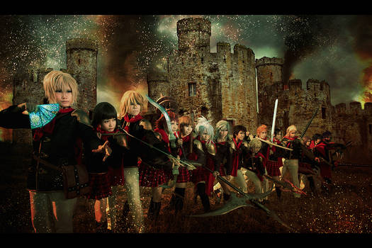 Final Fantasy Type 0 - Marching Forth.