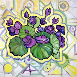 Violets Unmatched by chrispco