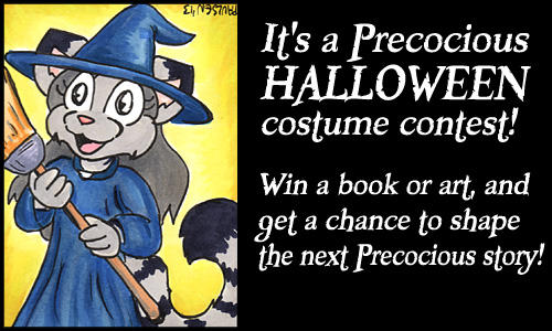 The Precocious Costume Contest!
