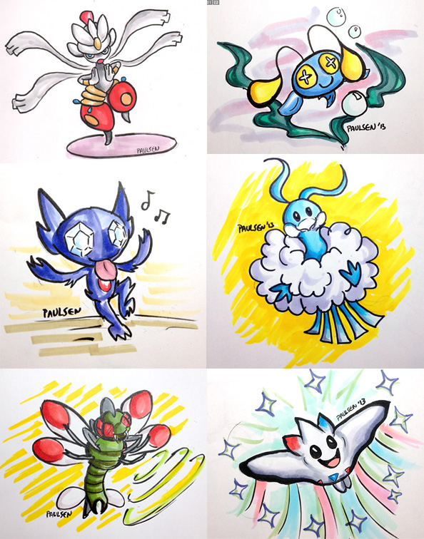 Pokedexy challenge 1-6 by chrispco