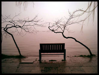 Public bench by alfa