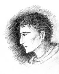 Ondra head sketch by marmota-b