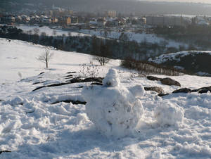 Impaired snowman