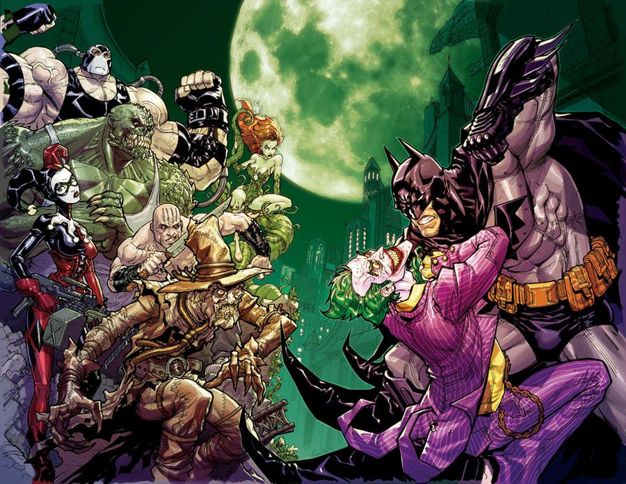 Batman 'Arkham Asylum' promo by Chuckdee