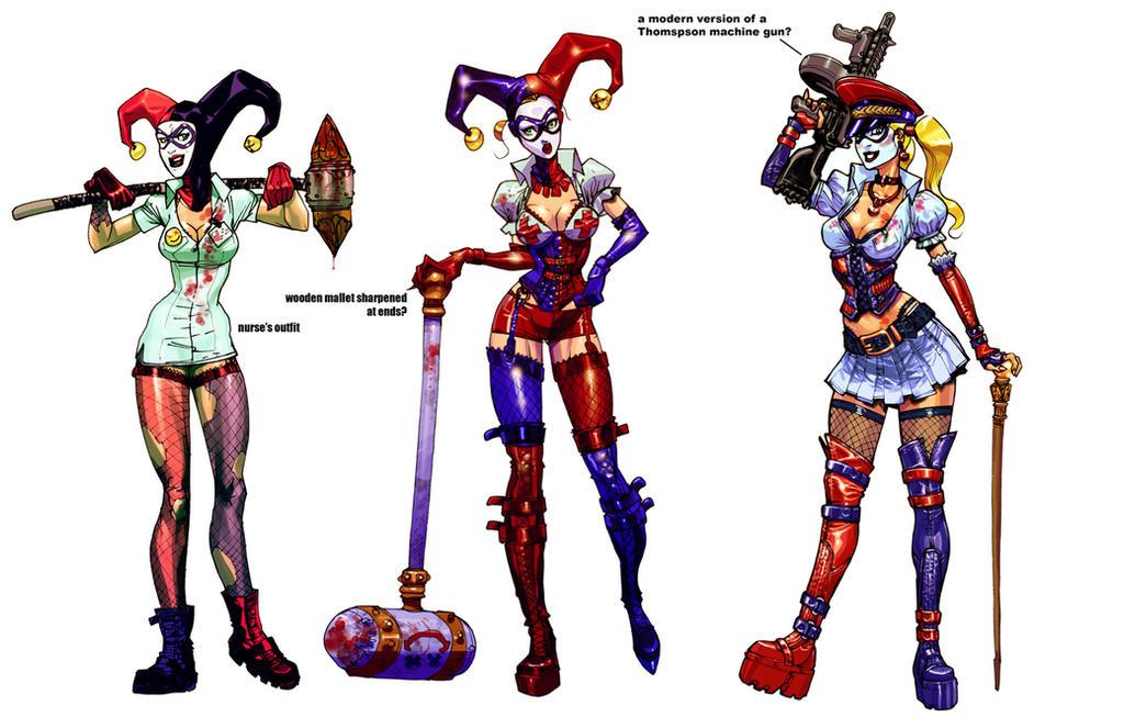 Harley incarnations