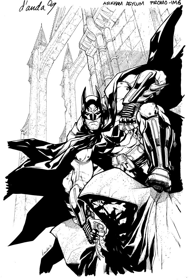 Dibujos Para Colorear De Batman Arkham Origins ~ Ideas Creativas ...