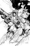 StarCraft cover 2 BW