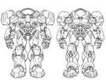 StarCraft armour designs