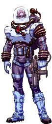 Arkham 'Mr. Freeze' bio-image by Chuckdee