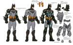 Arkham 'armored' Batman wips.