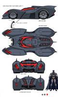 DCU MMO Batmobile design