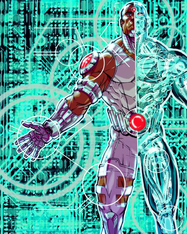 Cyborg DCU by Chuckdee