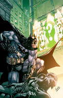 ArkhamCity.digitalcomic.clr. by Chuckdee