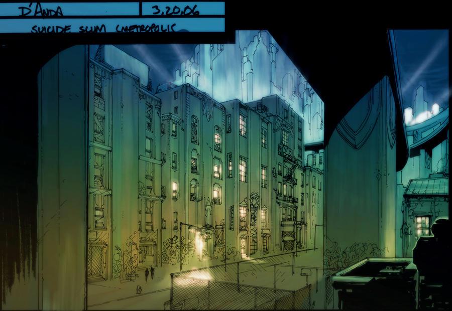 DCO MMO Suicide Slums by Chuckdee