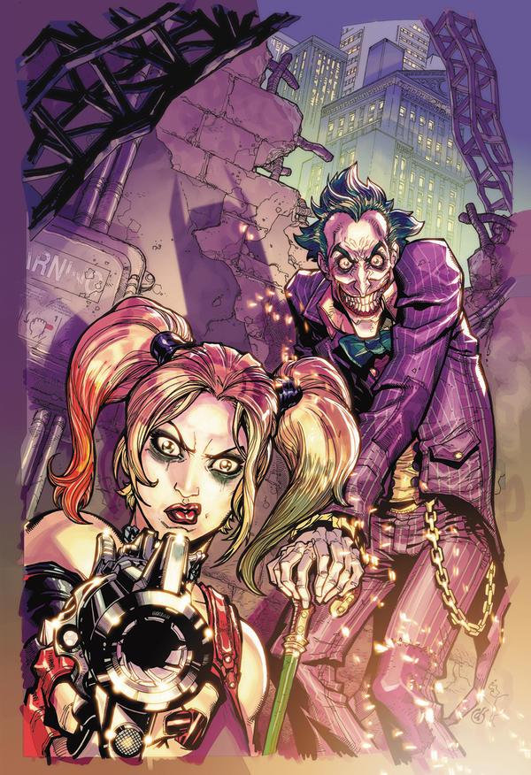 Arkham City.3.cover.colors by Chuckdee