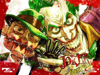 Joker.billboard.ArkhamCity. by Chuckdee