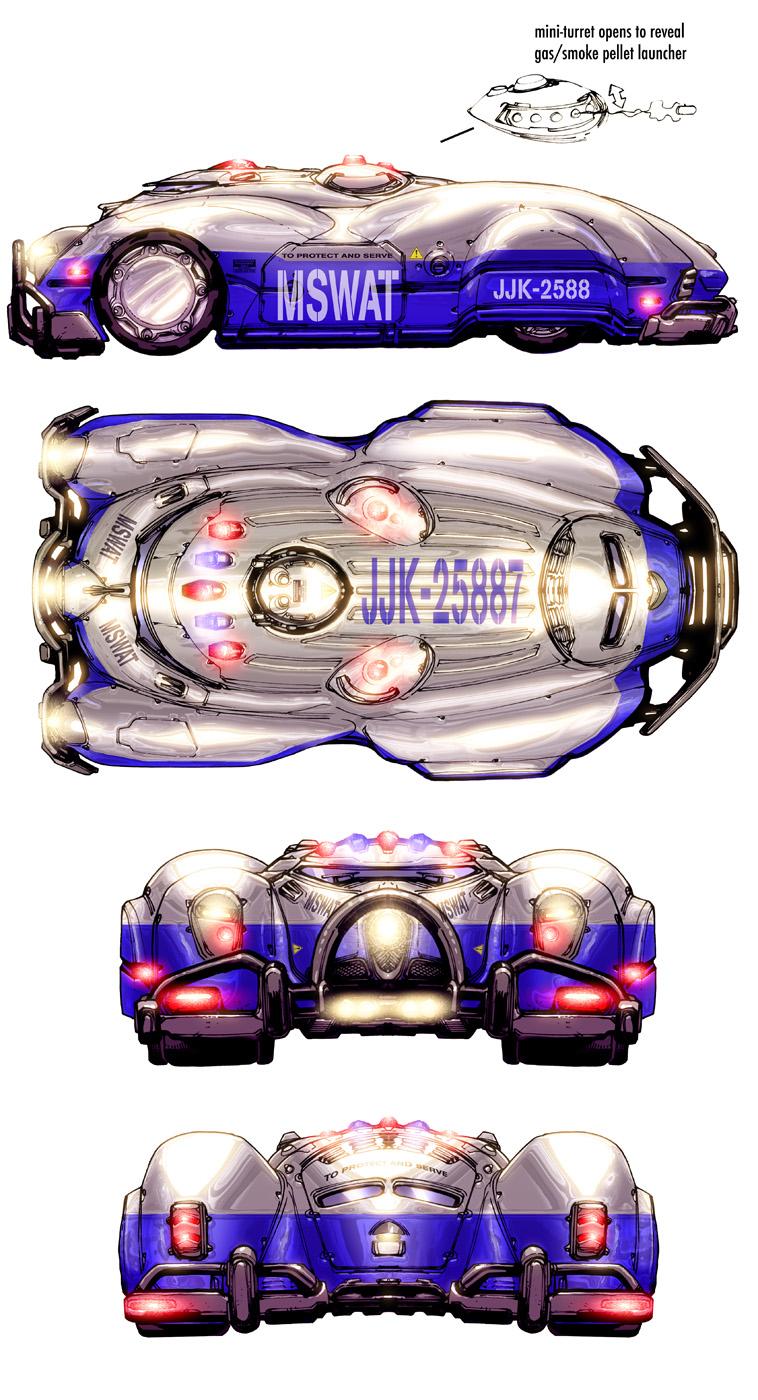 DCOMMO.MetropolisWagon by Chuckdee