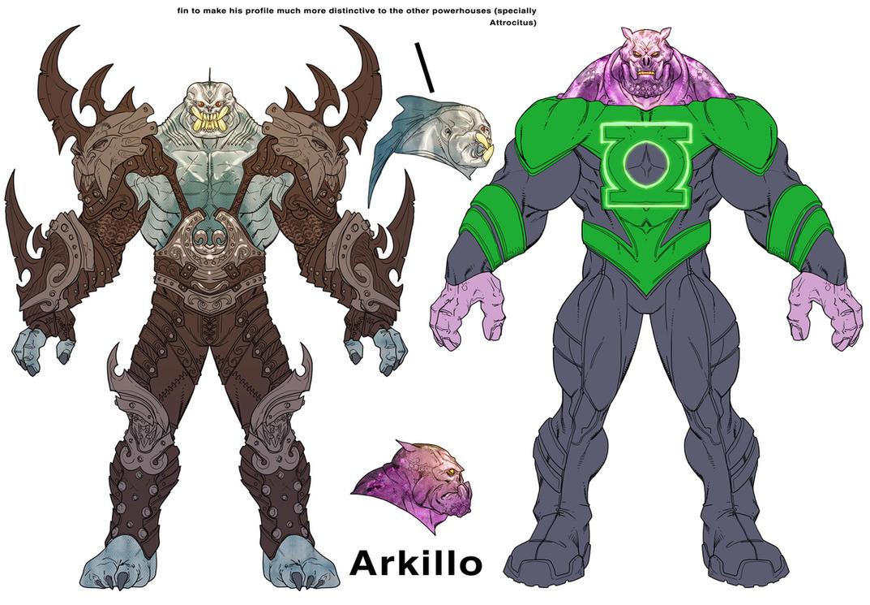 Arkillo and Kilowog by Chuckdee