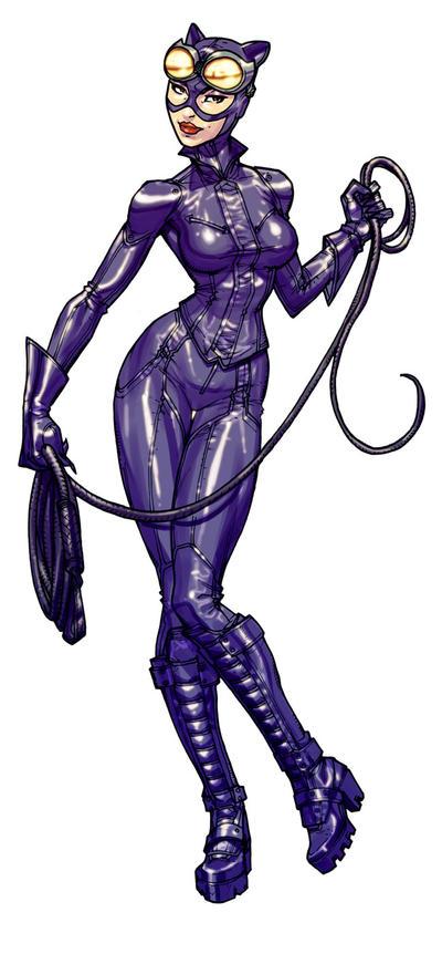 Catwoman bio ArkhamAsylum by Chuckdee