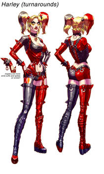 Harley ArkhamCity final pass