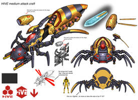DCO.MMO.HIVE. light.aircraft by Chuckdee