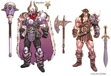 DCOMMO Vikings and Barbarians oh my! by Chuckdee