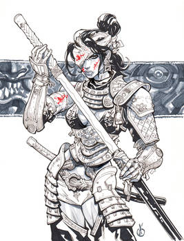 Samuray Girl dos