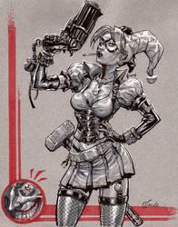Arkham-Harley by Chuckdee