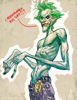 Joker's hungreeee!!!