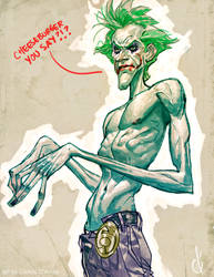 Joker's hungreeee!!! by Chuckdee