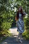 Summer walk by LadyInari