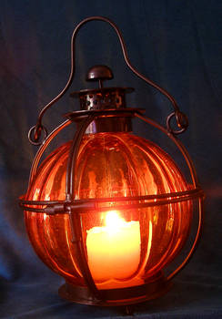 Lantern and candle - updated..