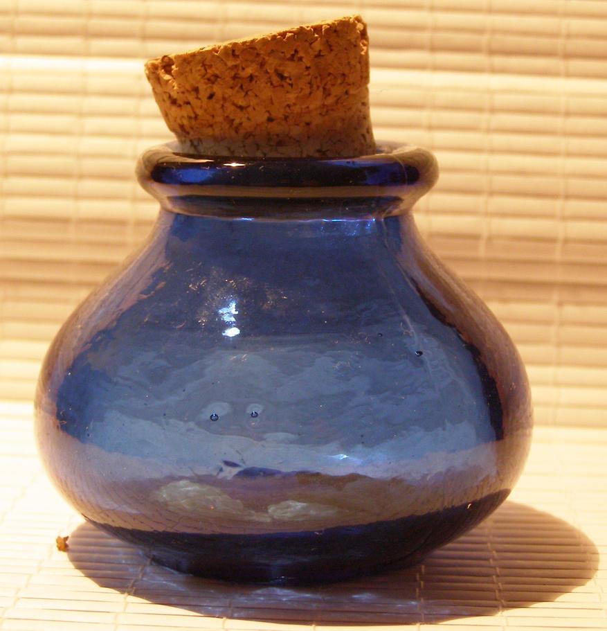 Lil' blue bottle 1... by chop-stock