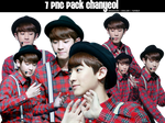 [2014 7PNG] Pack ChanYeol by @Baozicutie