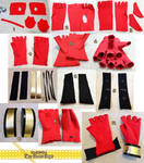 Sword Art Online Silica Gloves Progress