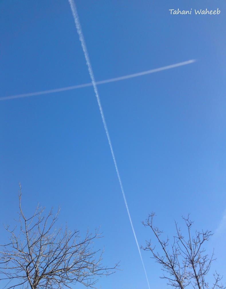 Across the sky by ThePurpleLilac