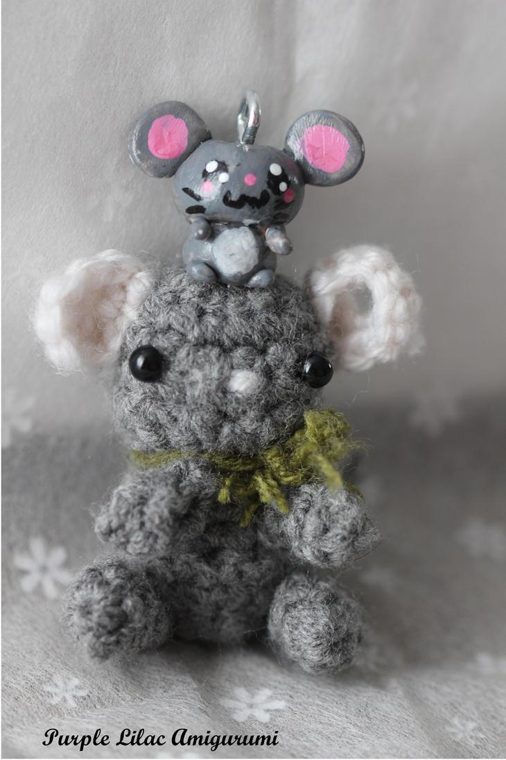 Kawaii mouse by ThePurpleLilac