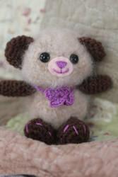 Fuzzy Bear by ThePurpleLilac