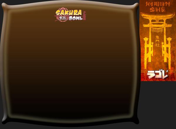 SDLTCG - Sakura Bowl board 6 by SamuraiOfTheGrove