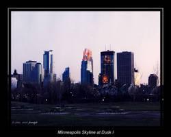 Minneapolis Skyline at Dusk 1