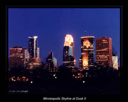 Minneapolis Skyline at Dusk 2