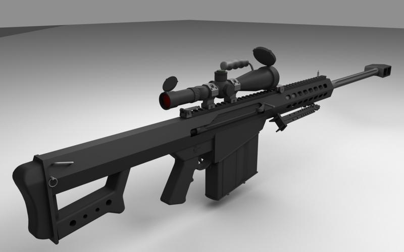 Barrett M82 by ShengDaFlashPRo