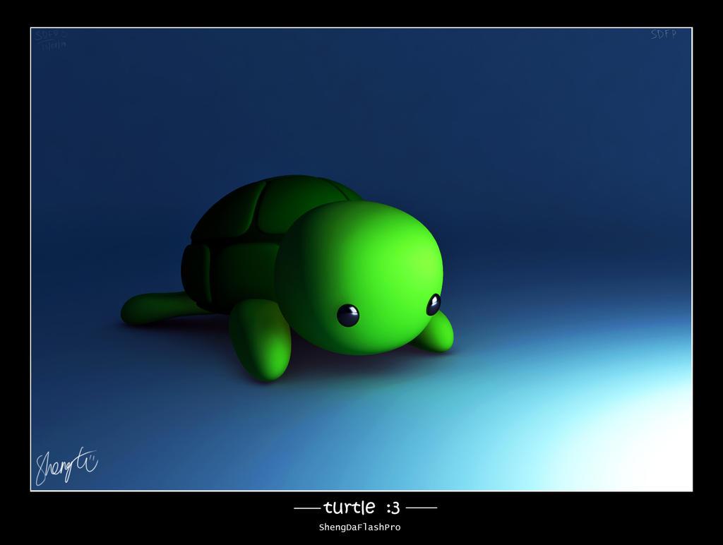 Turtle :3 by ShengDaFlashPRo