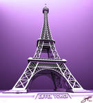 Eiffel Tower by ShengDaFlashPRo