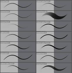 Concept Pencils Clip Studio Paint EX by Ashentar